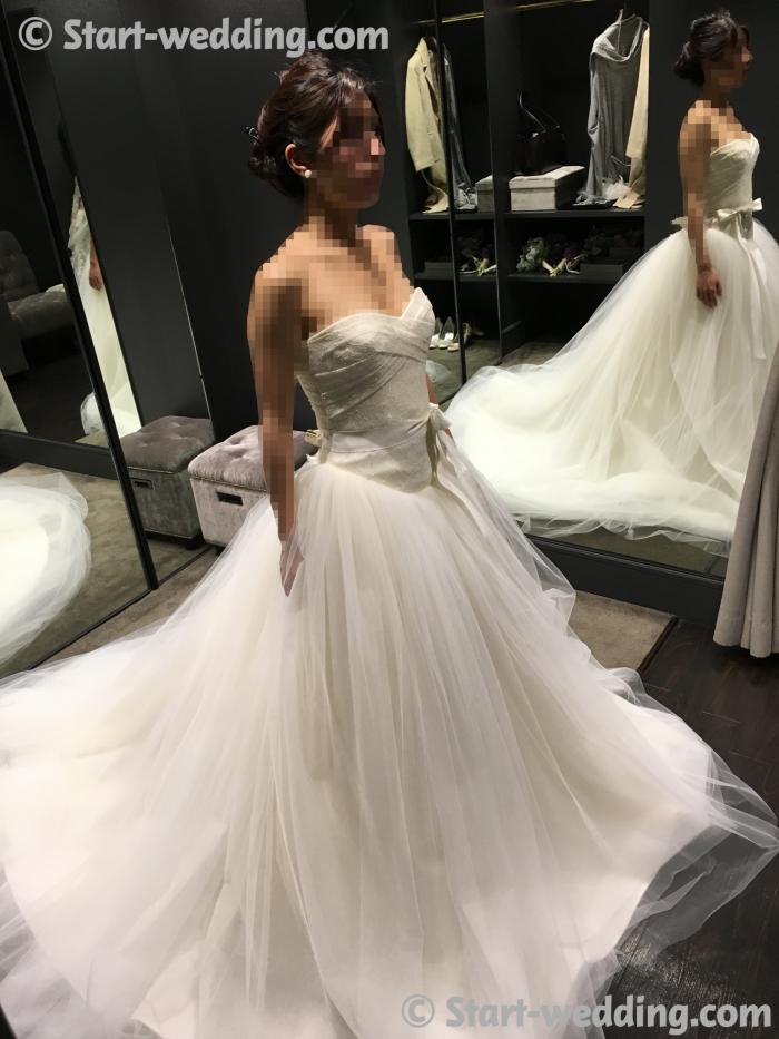 ヴェラウォンのドレス バレリーナ