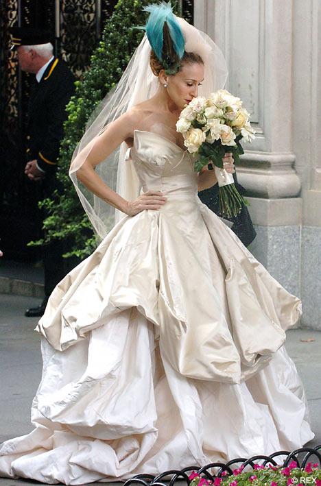 ヴィヴィアンウエストウッドのウェディングドレス