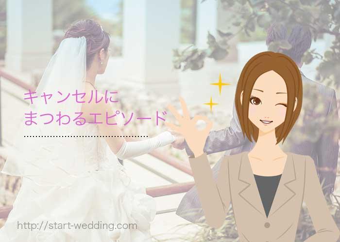 結婚式キャンセル料