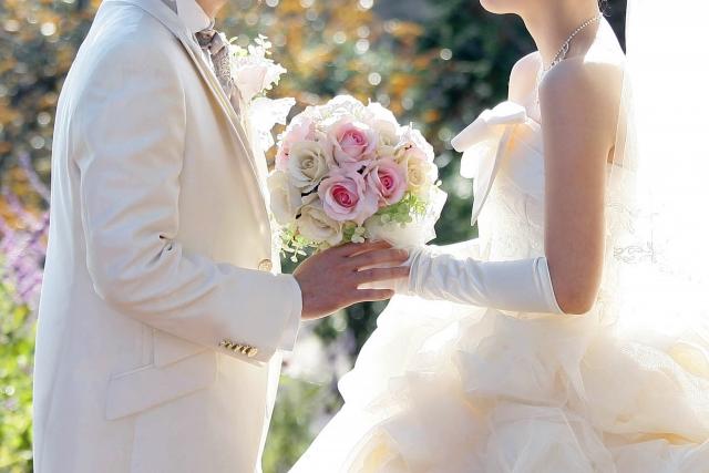 結婚式とブーケ