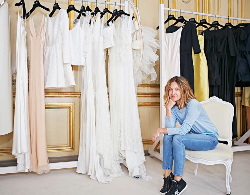 Delphine Manivet(デルフィーヌ・マニヴェ)のウェディングドレス紹介